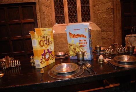 Un second petit-déjeuner Harry Potter à Poudlard