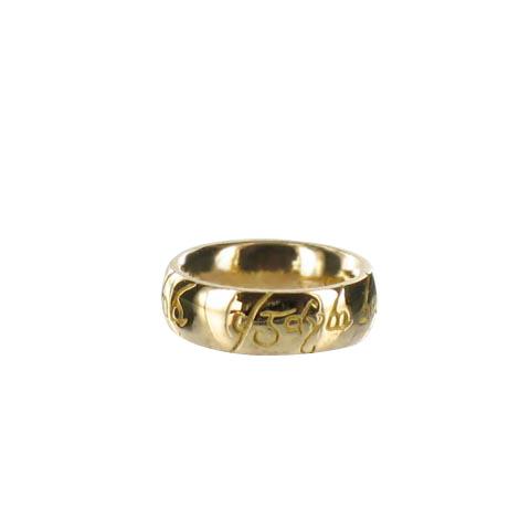 Pendentif Mini-anneau en or - personnalisé