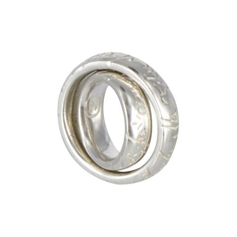 Mini-anneaux - Pendentifs en duo