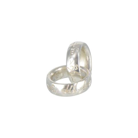 Mini-anneaux - Pendentifs enlacés