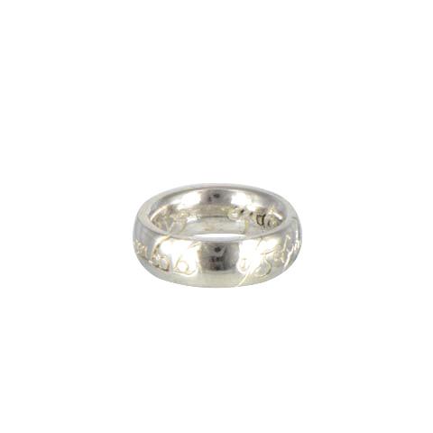 Mini-anneau - Pendentif argent double gravure