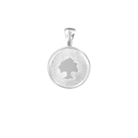 Médaille ronde Sylvoë personnalisée