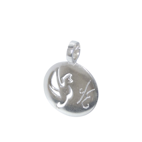 Médaille Oiseau de paradis personnalisée