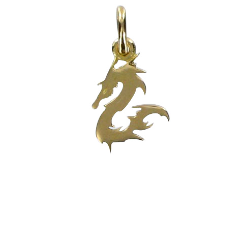 Dragon du sable or - Pendentif