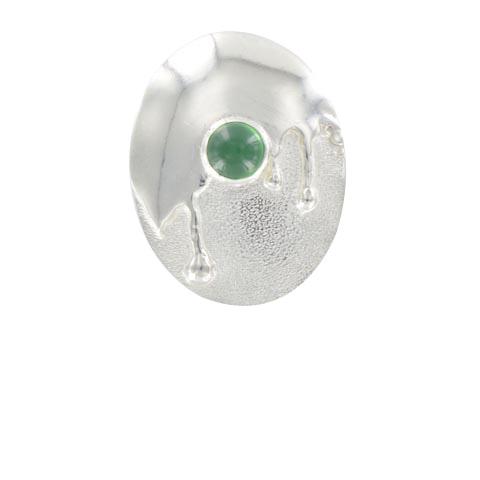 Douceur colorée - Agate verte