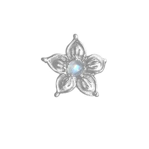Earinya Flocon Lune - Pendentif