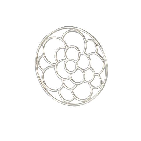 Perles de rosée - Pendentif argent 925ème