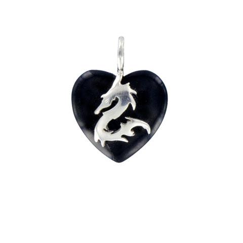 Coeur de Sylve - Dragon Onyx - Pendentif