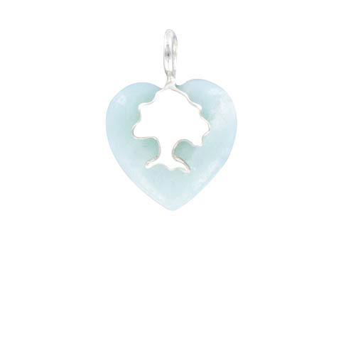 Coeur de Sylve - Sylvoe Amazonite - Pendentif