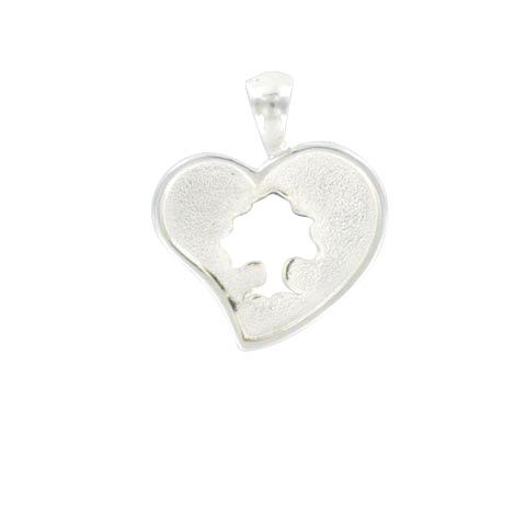 Sylvoë - Médaille coeur