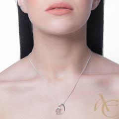 Coeur de Monade - pendentif argent 925ème