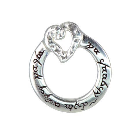 Un anneau pour nous unir - pendentif argent 925ème