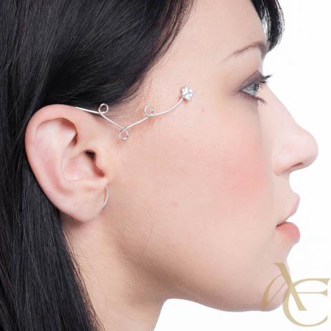 Etoile filante - Tour d'oreille droite