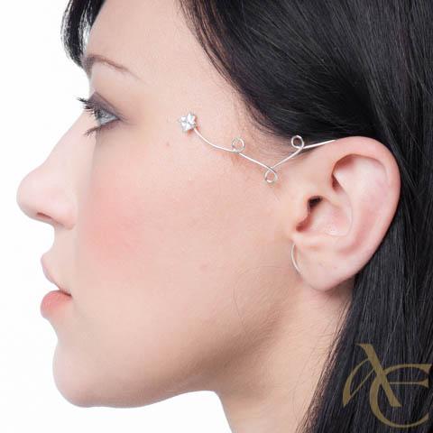 Etoile filante - Tour d'oreille gauche