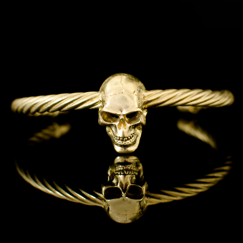 Bracelet - Tête de mort (sur câble)
