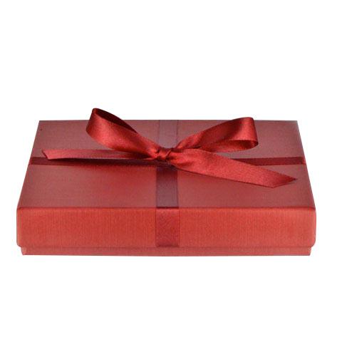 Boite écrin cadeau pour collier, tour de cou et bracelet