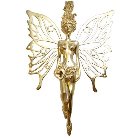 Bronze du Griffon - pendentif Fée Pampille