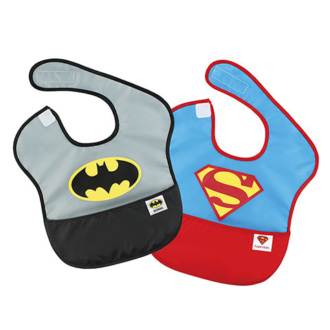 Pack de 2 super-bavoirs imperméables Batman