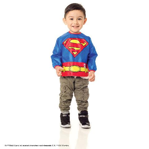 Bavoir-tablier déguisement Superman