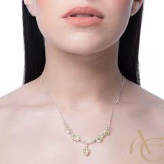 Zénith - collier argent 925ème et oxyde zirconium