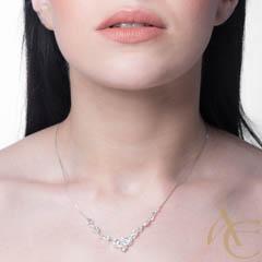 Intense - collier argent 925ème et oxyde zirconium