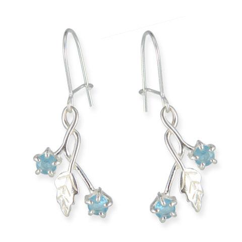 Délicate - boucles d'oreilles argent 925ème et oxyde zirconium