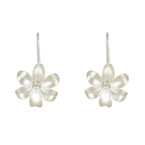 Nature - Hyacinthe boucles d'oreilles argent 925ème