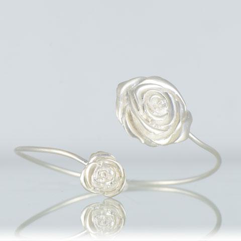 Nature - Rose - bracelet argent 925ème