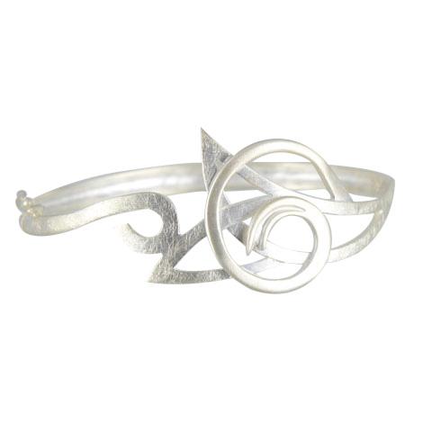 Céleste - Lune - bracelet argent 925ème