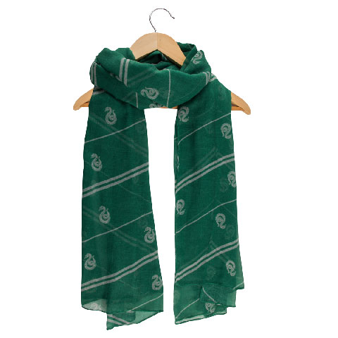Echarpe légère Foulard Serpentard - Harry Potter