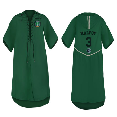 Robe de Quidditch personnalisable KIDS - Serpentard - Harry Potter