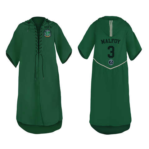 Robe de Quidditch personnalisable - Serpentard - Harry Potter