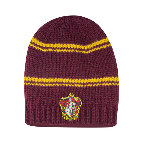 Bonnet Long Slouchy Gryffondor Pourpre et or - Harry Potter