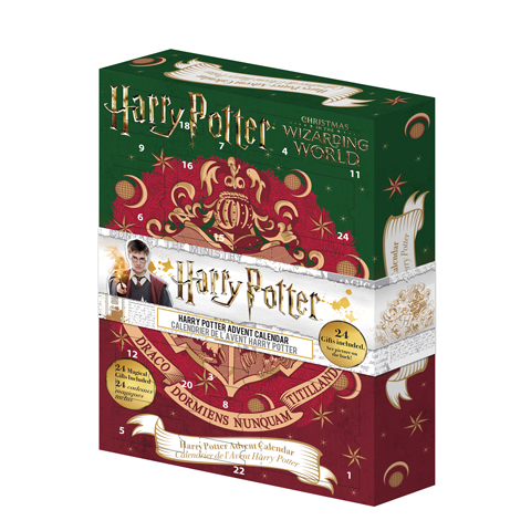 Calendrier de l'avent 2019 Harry Potter - Christmas in the Wizarding World