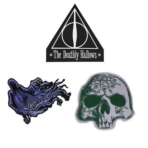 Ecussons Harry Potter DELUXE DEATHLY HALLOWS