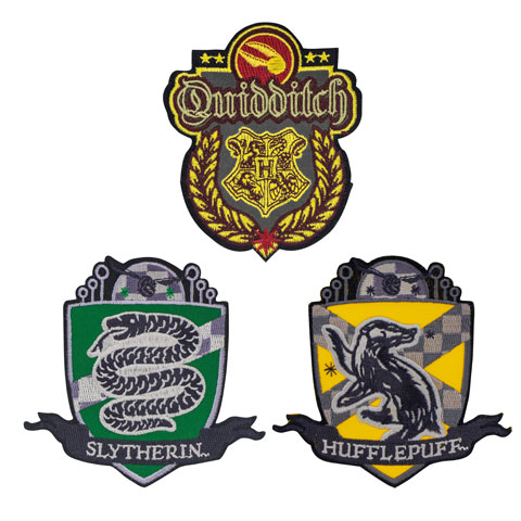 Ecussons Harry Potter DELUXE QUIDDITCH HOGWARTS