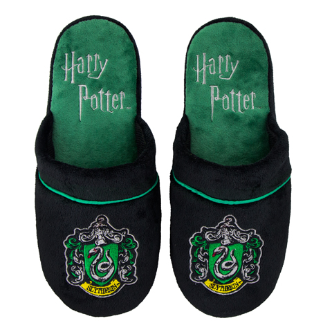 Pantoufles Serpentard taille M/L - Harry Potter