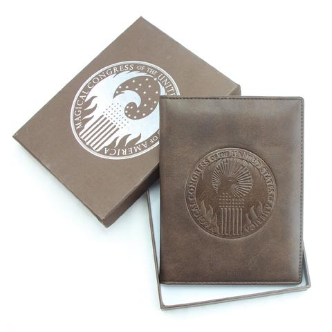 Couvre passeport Congrès Magiques des Etats-Unis - Animaux Fantastiques
