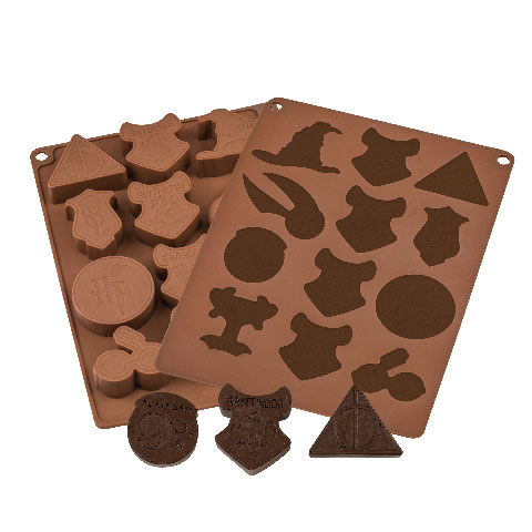 Moule à chocolats et glaçons  - Logo Harry Potter
