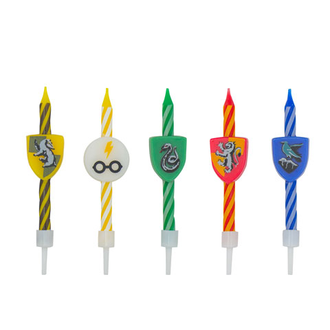 Harry Potter - Set 10 bougies Anniversaire logo Harry potter