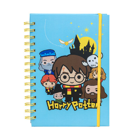 Carnet à spirales Harry Potter Kawaii