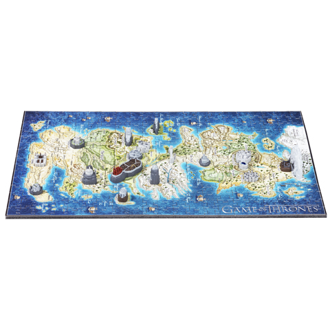 Puzzle Carte de Westeros - 350 pcs - Game of Thrones - 4D Cityscape