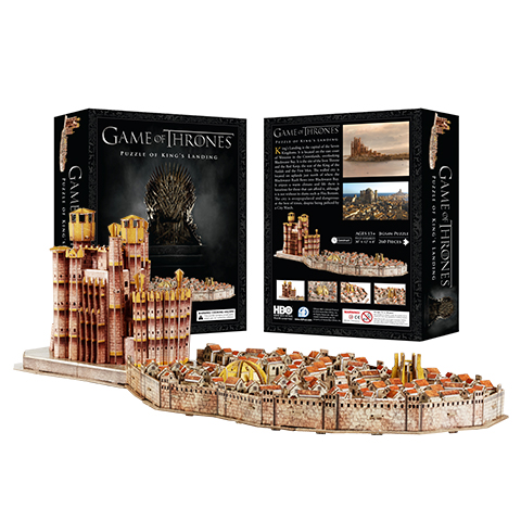 Puzzle Ville de Port Réal - 260 pcs - Game of Thrones - 4D Cityscape