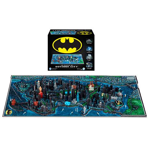 Puzzle Ville de Gotham - 1550 pcs - Batman - 4D Cityscape