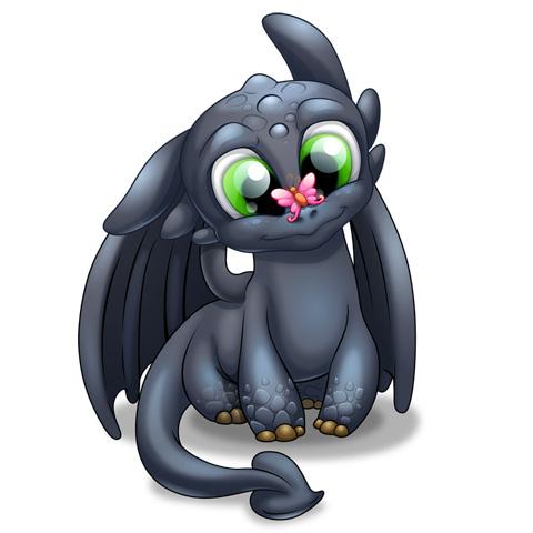Bébé Dragon - Candide