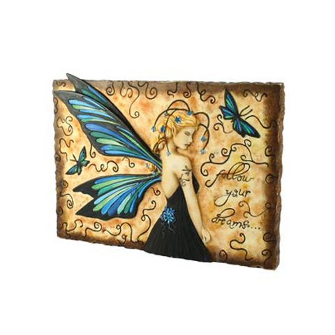 Jessica Galbreth - plaque murale- Follow Your Dreams