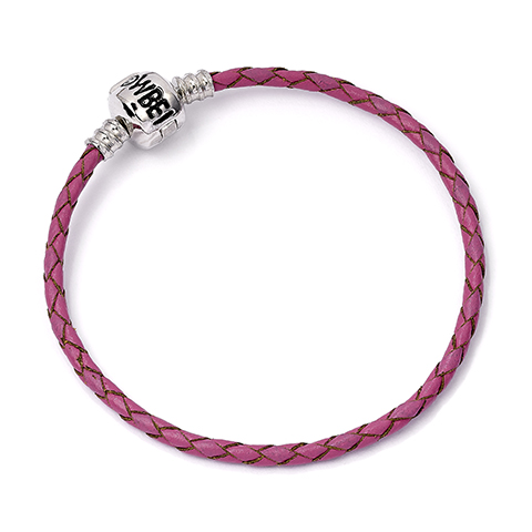 Bracelet Harry Potter en cuir rose