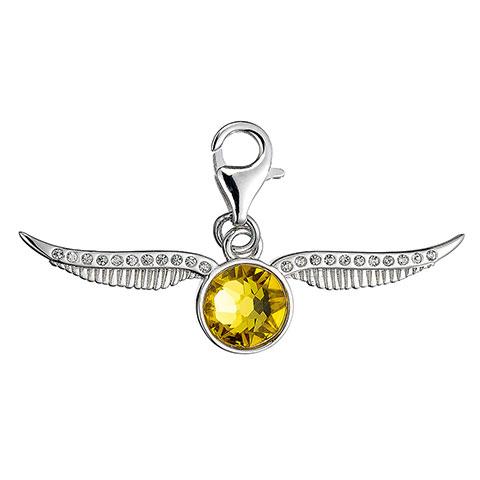 Charm à clip Vif d'or avec cristaux de Swarovski