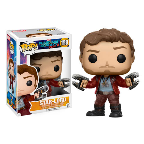 Pop! Star-Lord - Les gardiens de la Galaxie 2