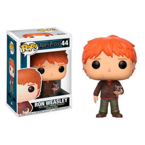 Pop! Ron avec Croutard - Harry Potter N°44